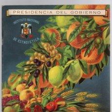 Libros de segunda mano: LA RIQUEZA DE ESPAÑA. INSTITUTO NACIONAL DE ESTADISTICA. PRESIDENCIA DE GOBIERNO. 1948. Lote 148161665