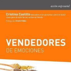 Libros de segunda mano: VENDEDORES DE EMOCIONES.. Lote 148162497