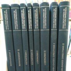 Libros de segunda mano: GRAN ENCICLOPEDIA DE LA GESTIÓN EMPRESARIAL. COMPLETA, 8 TOMOS. MCGRAW HILL, 2007. Lote 148165253