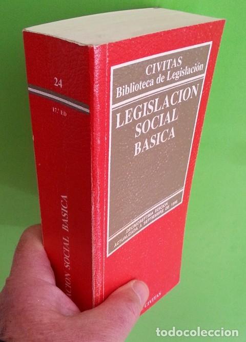 Libros de segunda mano: Legislación social básica - Foto 3 - 148347246