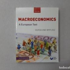 Libros de segunda mano: MACROECONOMICS - MICHAEL BURDA, CHARLES WYPLOSZ. Lote 147417154