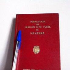 Libros de segunda mano: DERECHO CIVIL FORAL DE NAVARRA 1973. Lote 148564692