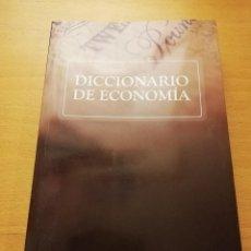 Libros de segunda mano: DICCIONARIO DE ECONOMÍA (INTERECONOMÍA / BANKIA). Lote 150832530