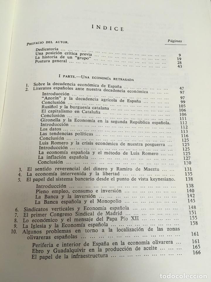 Libros de segunda mano: Sobre la decadencia económica de España por Juan Velarde Fuertes - Foto 9 - 150986414