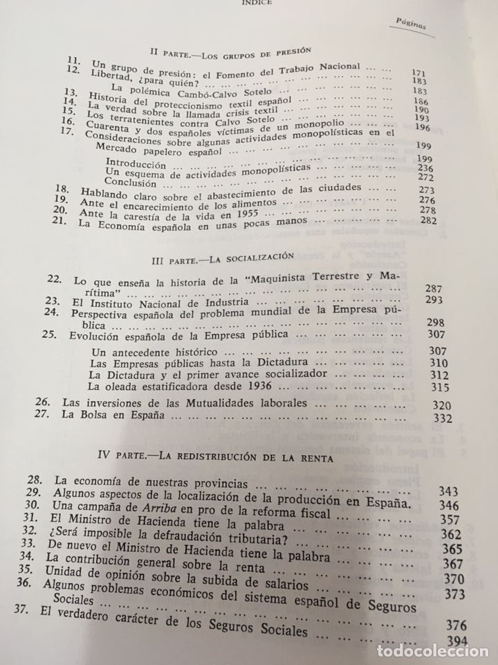 Libros de segunda mano: Sobre la decadencia económica de España por Juan Velarde Fuertes - Foto 10 - 150986414