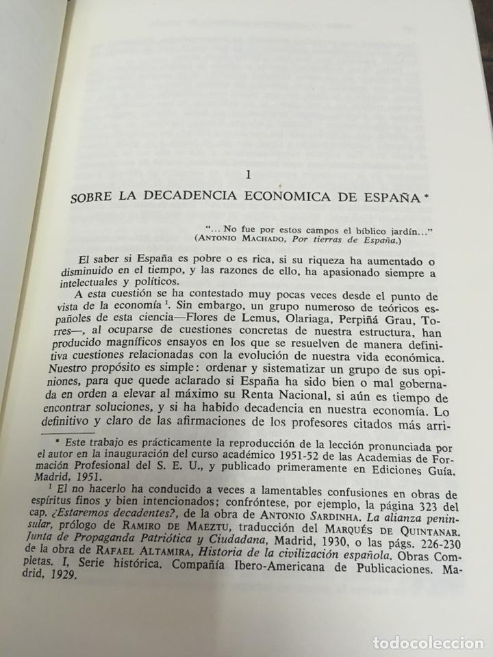 Libros de segunda mano: Sobre la decadencia económica de España por Juan Velarde Fuertes - Foto 13 - 150986414