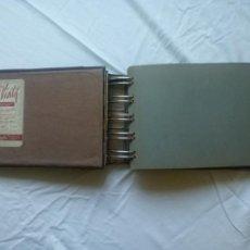 Libros de segunda mano: VISILIF LIBRO RAYADO DE CONTABILIDAD DE HOJAS CAMBIABLES 1962. Lote 162121169
