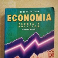 Libros de segunda mano: ECONOMÍA. TEORÍA Y POLÍTICA (FRANCISCO MOCHÓN) TERCERA EDICIÓN, MCGRAW HILL. Lote 151498822