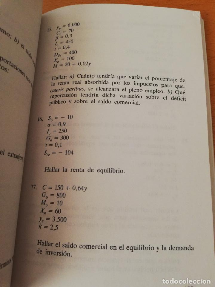 Libros de segunda mano: EJERCICIOS DE TEORÍA ECONÓMICA. VOLUMEN II (ANTONIO BORT) EDITORIAL CENTRO DE ESTUDIOS RAMÓN ARECES - Foto 3 - 151589162