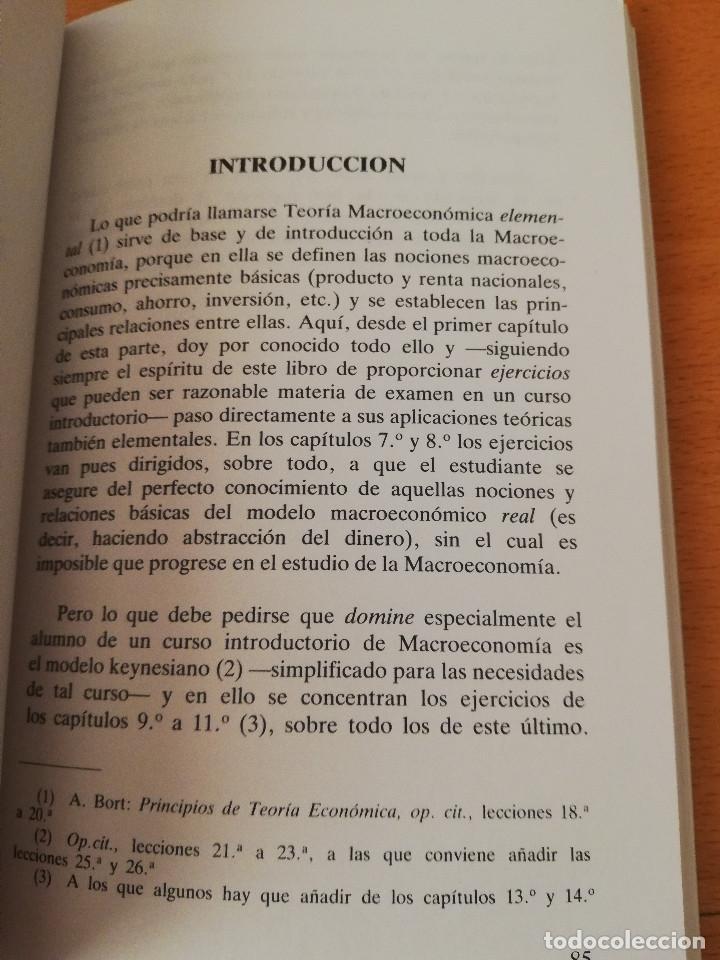 Libros de segunda mano: EJERCICIOS DE TEORÍA ECONÓMICA. VOLUMEN II (ANTONIO BORT) EDITORIAL CENTRO DE ESTUDIOS RAMÓN ARECES - Foto 4 - 151589162