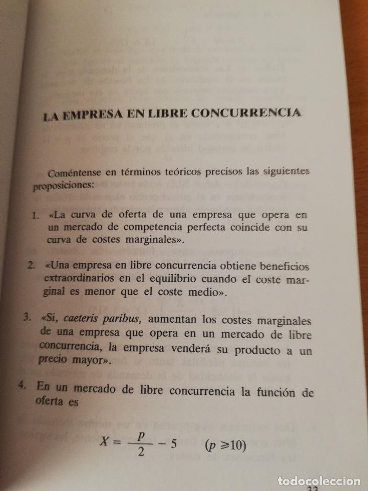 Libros de segunda mano: EJERCICIOS DE TEORÍA ECONÓMICA. VOLUMEN II (ANTONIO BORT) EDITORIAL CENTRO DE ESTUDIOS RAMÓN ARECES - Foto 5 - 151589162