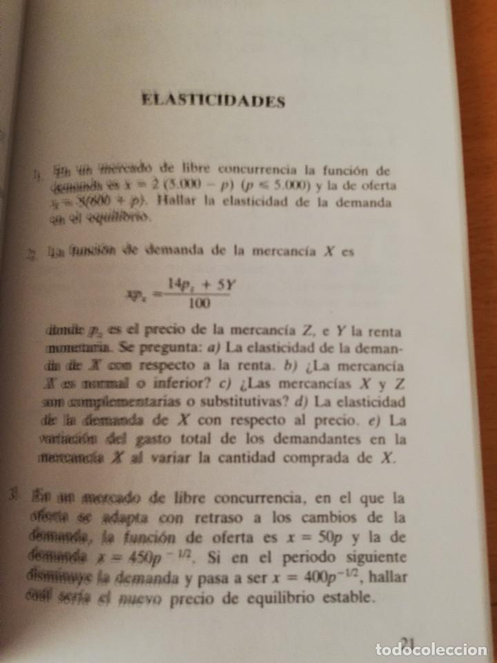 Libros de segunda mano: EJERCICIOS DE TEORÍA ECONÓMICA. VOLUMEN II (ANTONIO BORT) EDITORIAL CENTRO DE ESTUDIOS RAMÓN ARECES - Foto 6 - 151589162
