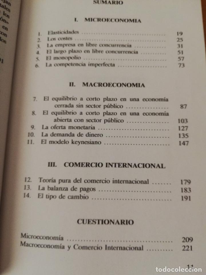 Libros de segunda mano: EJERCICIOS DE TEORÍA ECONÓMICA. VOLUMEN II (ANTONIO BORT) EDITORIAL CENTRO DE ESTUDIOS RAMÓN ARECES - Foto 7 - 151589162