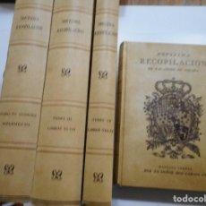 Libros de segunda mano: NOVÍSIMA RECOPILACIÓN DE LAS LEYES DE ESPAÑA Y92601. Lote 152277302