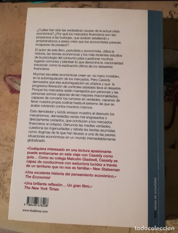 Libros de segunda mano: Por qué quiebran los mercados. La lógica de los desastres financieros - John Cassidy - Foto 2 - 152478030