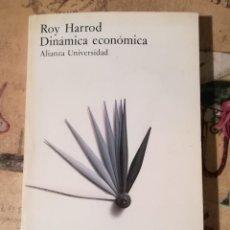 Libros de segunda mano: DINÁMICA ECONÓMICA - ROY HARROD. Lote 152479842