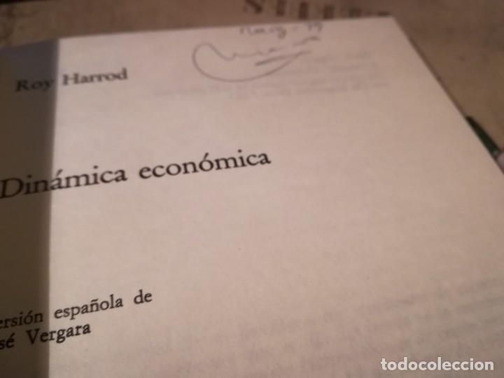 Libros de segunda mano: Dinámica económica - Roy Harrod - Foto 3 - 152479842