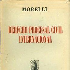 Libros de segunda mano: DERECHO PROCESAL CIVIL INTERNACIONAL. Lote 152531618