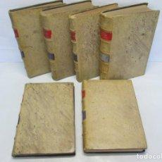 Libros de segunda mano: JOSE CASTAN TOBEÑAS. DERECHO CIVIL ESPAÑOL, COMUN Y FLORAL. 6 LIBROS. EDITORIAL REUS. Lote 153018666