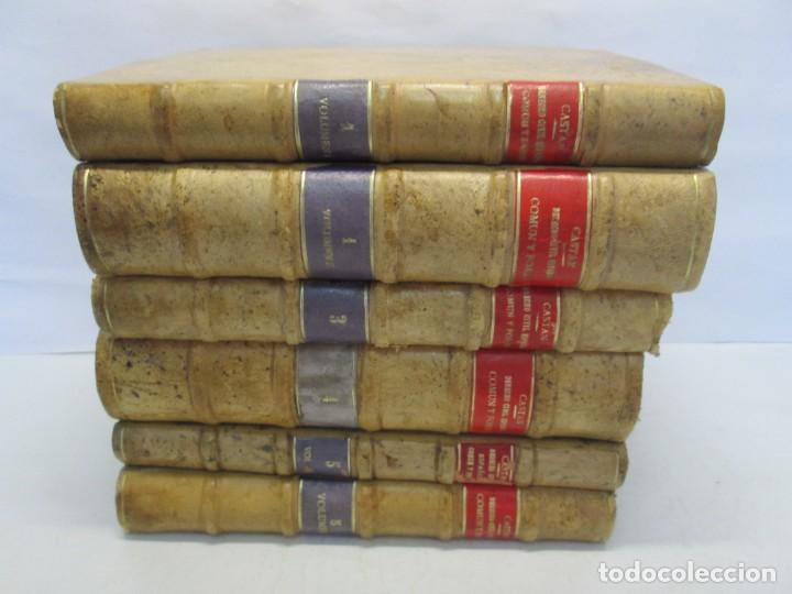 Libros de segunda mano: JOSE CASTAN TOBEÑAS. DERECHO CIVIL ESPAÑOL, COMUN Y FLORAL. 6 LIBROS. EDITORIAL REUS - Foto 4 - 153018666