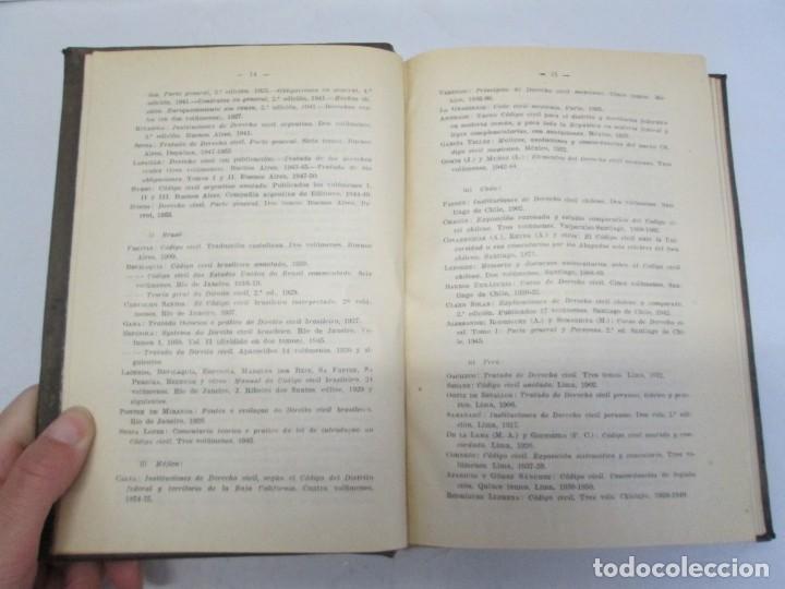 Libros de segunda mano: JOSE CASTAN TOBEÑAS. DERECHO CIVIL ESPAÑOL, COMUN Y FLORAL. 6 LIBROS. EDITORIAL REUS - Foto 9 - 153018666