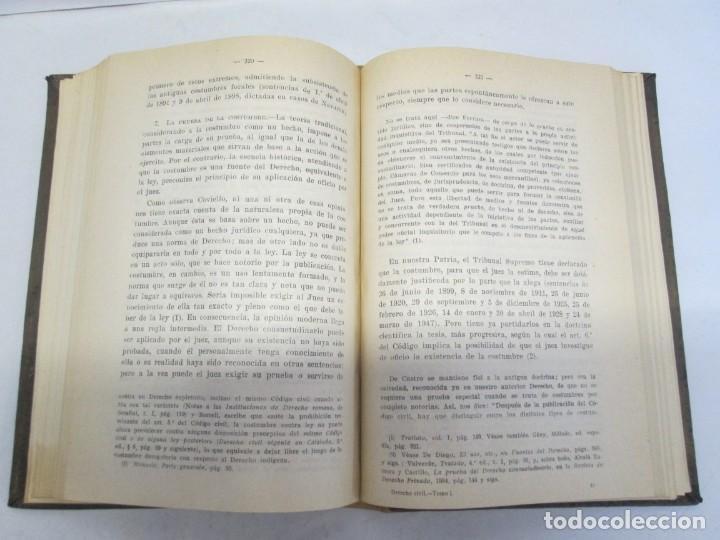 Libros de segunda mano: JOSE CASTAN TOBEÑAS. DERECHO CIVIL ESPAÑOL, COMUN Y FLORAL. 6 LIBROS. EDITORIAL REUS - Foto 10 - 153018666