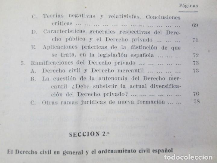 Libros de segunda mano: JOSE CASTAN TOBEÑAS. DERECHO CIVIL ESPAÑOL, COMUN Y FLORAL. 6 LIBROS. EDITORIAL REUS - Foto 14 - 153018666