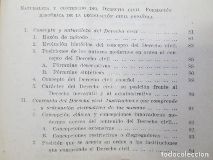 Libros de segunda mano: JOSE CASTAN TOBEÑAS. DERECHO CIVIL ESPAÑOL, COMUN Y FLORAL. 6 LIBROS. EDITORIAL REUS - Foto 15 - 153018666