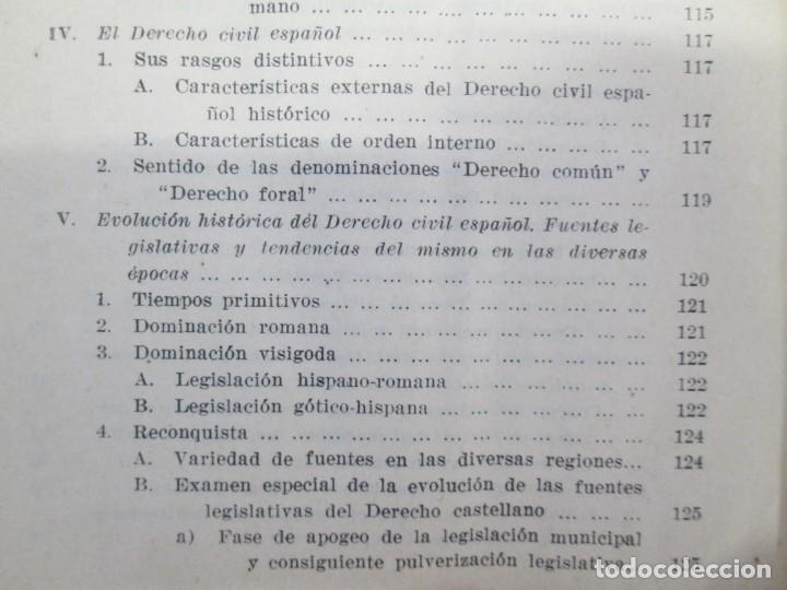 Libros de segunda mano: JOSE CASTAN TOBEÑAS. DERECHO CIVIL ESPAÑOL, COMUN Y FLORAL. 6 LIBROS. EDITORIAL REUS - Foto 17 - 153018666