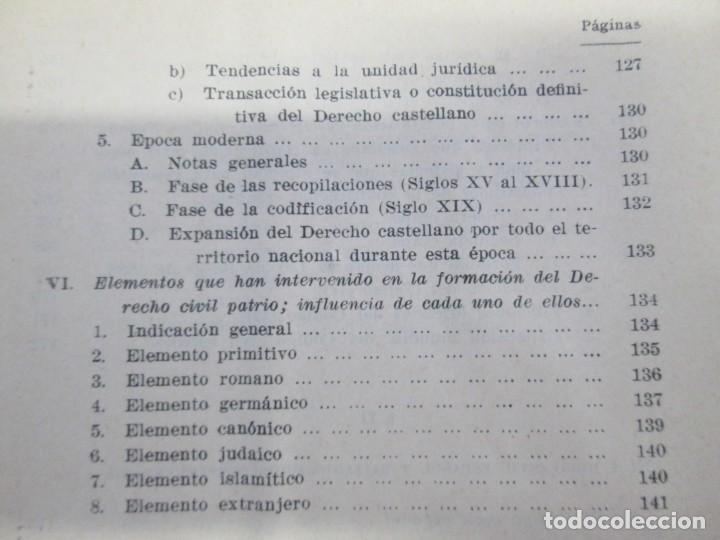 Libros de segunda mano: JOSE CASTAN TOBEÑAS. DERECHO CIVIL ESPAÑOL, COMUN Y FLORAL. 6 LIBROS. EDITORIAL REUS - Foto 18 - 153018666