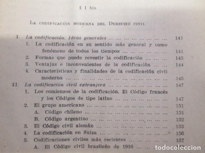 Libros de segunda mano: JOSE CASTAN TOBEÑAS. DERECHO CIVIL ESPAÑOL, COMUN Y FLORAL. 6 LIBROS. EDITORIAL REUS - Foto 19 - 153018666