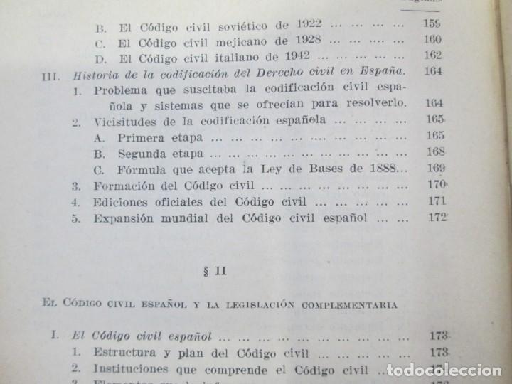 Libros de segunda mano: JOSE CASTAN TOBEÑAS. DERECHO CIVIL ESPAÑOL, COMUN Y FLORAL. 6 LIBROS. EDITORIAL REUS - Foto 20 - 153018666