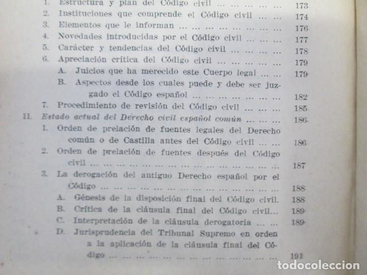 Libros de segunda mano: JOSE CASTAN TOBEÑAS. DERECHO CIVIL ESPAÑOL, COMUN Y FLORAL. 6 LIBROS. EDITORIAL REUS - Foto 21 - 153018666