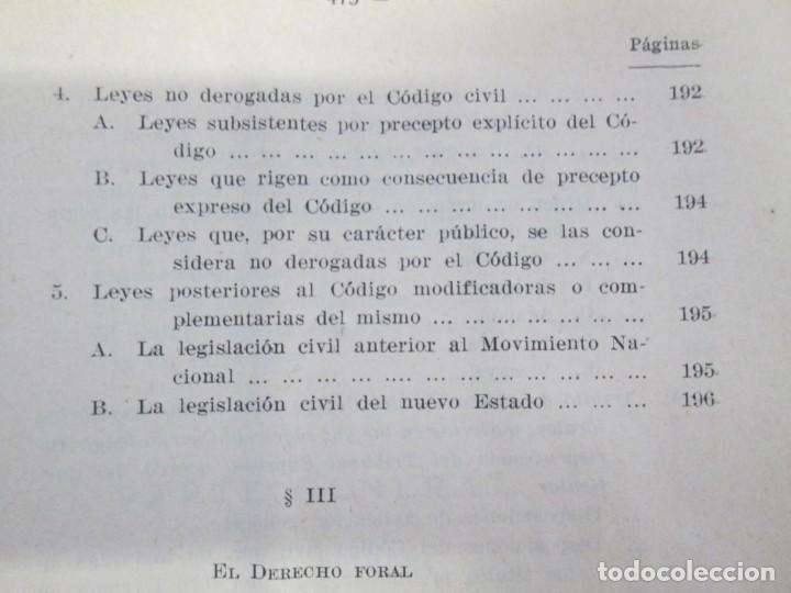 Libros de segunda mano: JOSE CASTAN TOBEÑAS. DERECHO CIVIL ESPAÑOL, COMUN Y FLORAL. 6 LIBROS. EDITORIAL REUS - Foto 22 - 153018666
