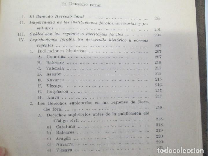 Libros de segunda mano: JOSE CASTAN TOBEÑAS. DERECHO CIVIL ESPAÑOL, COMUN Y FLORAL. 6 LIBROS. EDITORIAL REUS - Foto 23 - 153018666