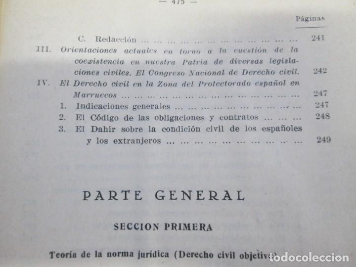 Libros de segunda mano: JOSE CASTAN TOBEÑAS. DERECHO CIVIL ESPAÑOL, COMUN Y FLORAL. 6 LIBROS. EDITORIAL REUS - Foto 26 - 153018666