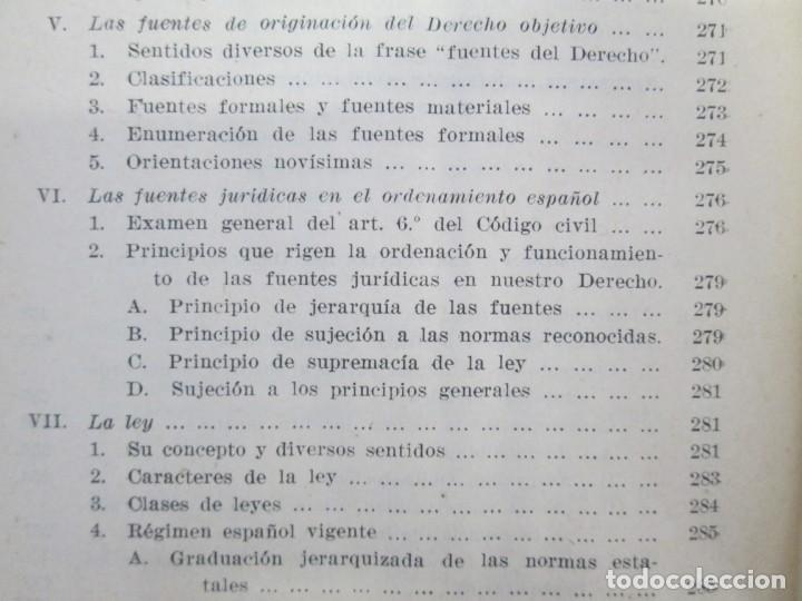Libros de segunda mano: JOSE CASTAN TOBEÑAS. DERECHO CIVIL ESPAÑOL, COMUN Y FLORAL. 6 LIBROS. EDITORIAL REUS - Foto 29 - 153018666