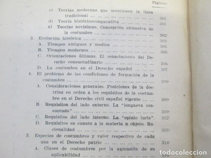 Libros de segunda mano: JOSE CASTAN TOBEÑAS. DERECHO CIVIL ESPAÑOL, COMUN Y FLORAL. 6 LIBROS. EDITORIAL REUS - Foto 32 - 153018666