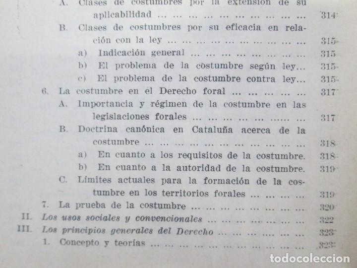 Libros de segunda mano: JOSE CASTAN TOBEÑAS. DERECHO CIVIL ESPAÑOL, COMUN Y FLORAL. 6 LIBROS. EDITORIAL REUS - Foto 33 - 153018666