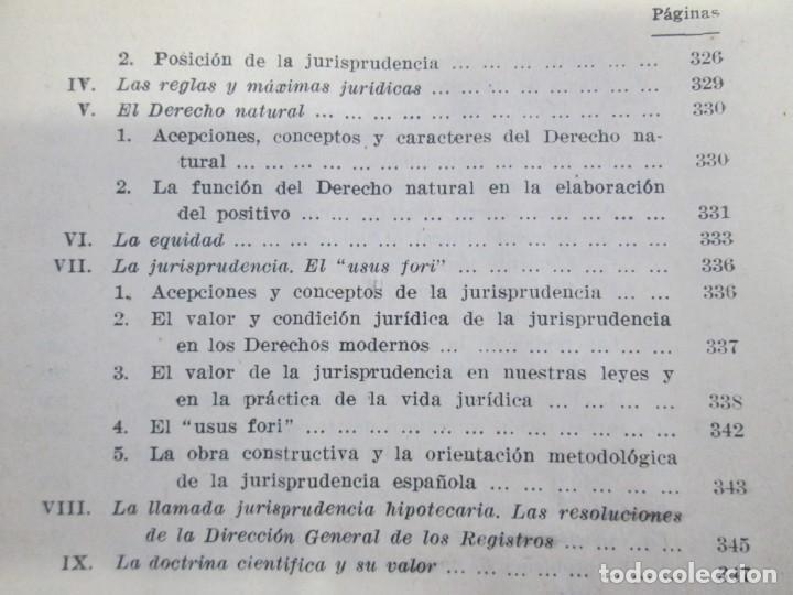 Libros de segunda mano: JOSE CASTAN TOBEÑAS. DERECHO CIVIL ESPAÑOL, COMUN Y FLORAL. 6 LIBROS. EDITORIAL REUS - Foto 34 - 153018666