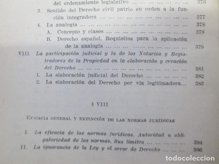 Libros de segunda mano: JOSE CASTAN TOBEÑAS. DERECHO CIVIL ESPAÑOL, COMUN Y FLORAL. 6 LIBROS. EDITORIAL REUS - Foto 37 - 153018666