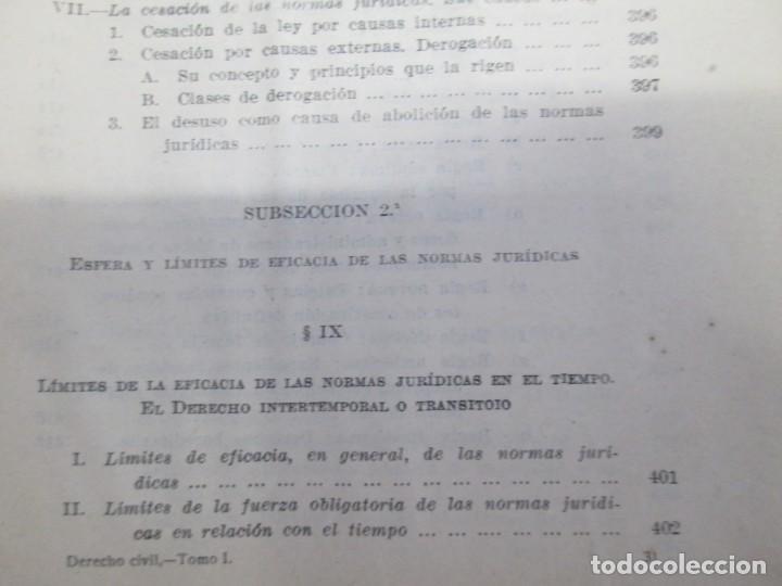 Libros de segunda mano: JOSE CASTAN TOBEÑAS. DERECHO CIVIL ESPAÑOL, COMUN Y FLORAL. 6 LIBROS. EDITORIAL REUS - Foto 39 - 153018666