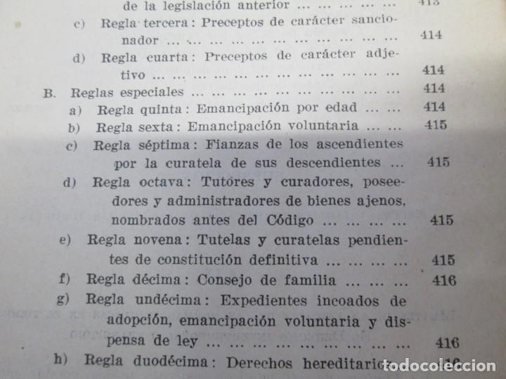 Libros de segunda mano: JOSE CASTAN TOBEÑAS. DERECHO CIVIL ESPAÑOL, COMUN Y FLORAL. 6 LIBROS. EDITORIAL REUS - Foto 41 - 153018666