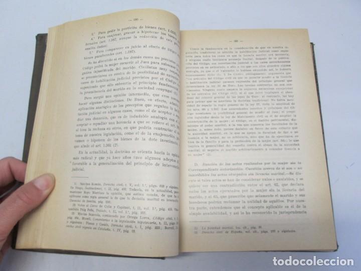 Libros de segunda mano: JOSE CASTAN TOBEÑAS. DERECHO CIVIL ESPAÑOL, COMUN Y FLORAL. 6 LIBROS. EDITORIAL REUS - Foto 49 - 153018666