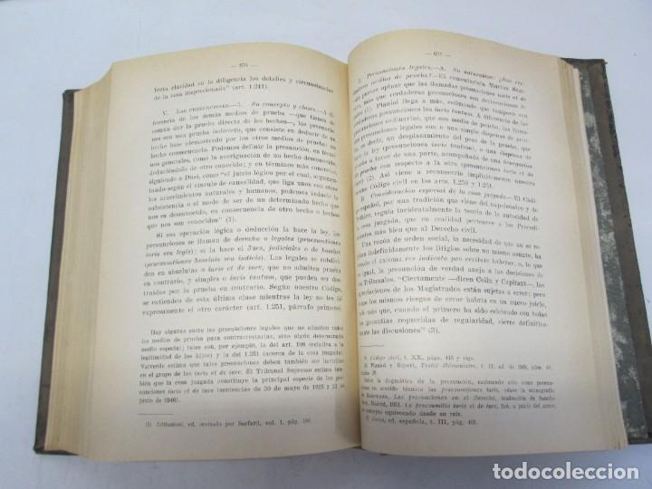 Libros de segunda mano: JOSE CASTAN TOBEÑAS. DERECHO CIVIL ESPAÑOL, COMUN Y FLORAL. 6 LIBROS. EDITORIAL REUS - Foto 50 - 153018666