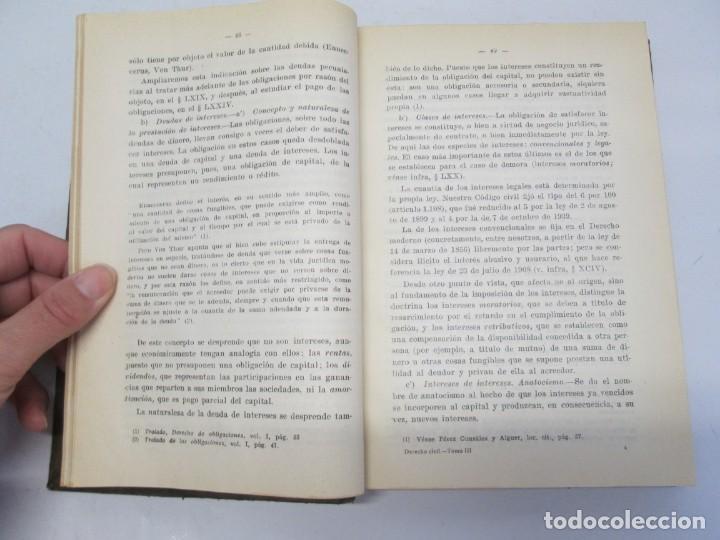 Libros de segunda mano: JOSE CASTAN TOBEÑAS. DERECHO CIVIL ESPAÑOL, COMUN Y FLORAL. 6 LIBROS. EDITORIAL REUS - Foto 55 - 153018666