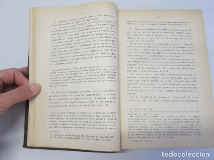 Libros de segunda mano: JOSE CASTAN TOBEÑAS. DERECHO CIVIL ESPAÑOL, COMUN Y FLORAL. 6 LIBROS. EDITORIAL REUS - Foto 62 - 153018666
