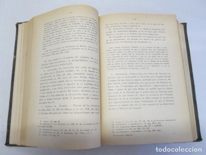 Libros de segunda mano: JOSE CASTAN TOBEÑAS. DERECHO CIVIL ESPAÑOL, COMUN Y FLORAL. 6 LIBROS. EDITORIAL REUS - Foto 63 - 153018666