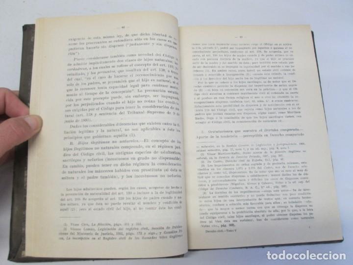 Libros de segunda mano: JOSE CASTAN TOBEÑAS. DERECHO CIVIL ESPAÑOL, COMUN Y FLORAL. 6 LIBROS. EDITORIAL REUS - Foto 69 - 153018666