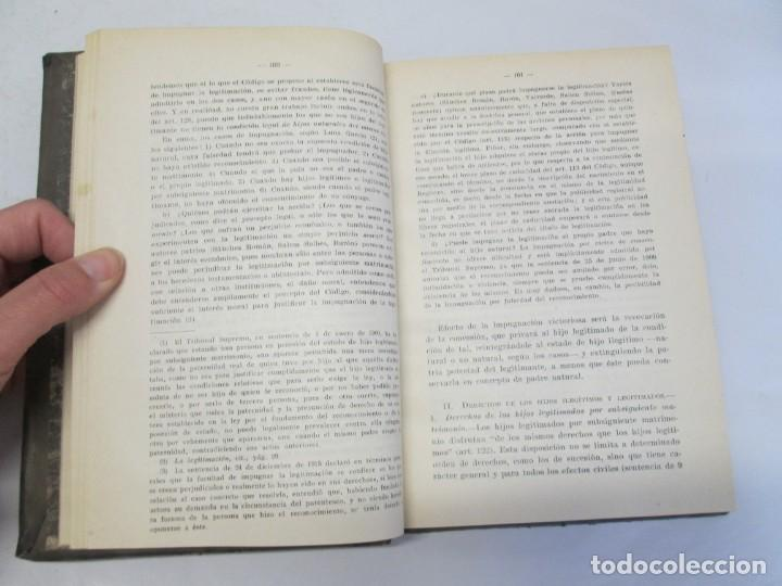 Libros de segunda mano: JOSE CASTAN TOBEÑAS. DERECHO CIVIL ESPAÑOL, COMUN Y FLORAL. 6 LIBROS. EDITORIAL REUS - Foto 70 - 153018666